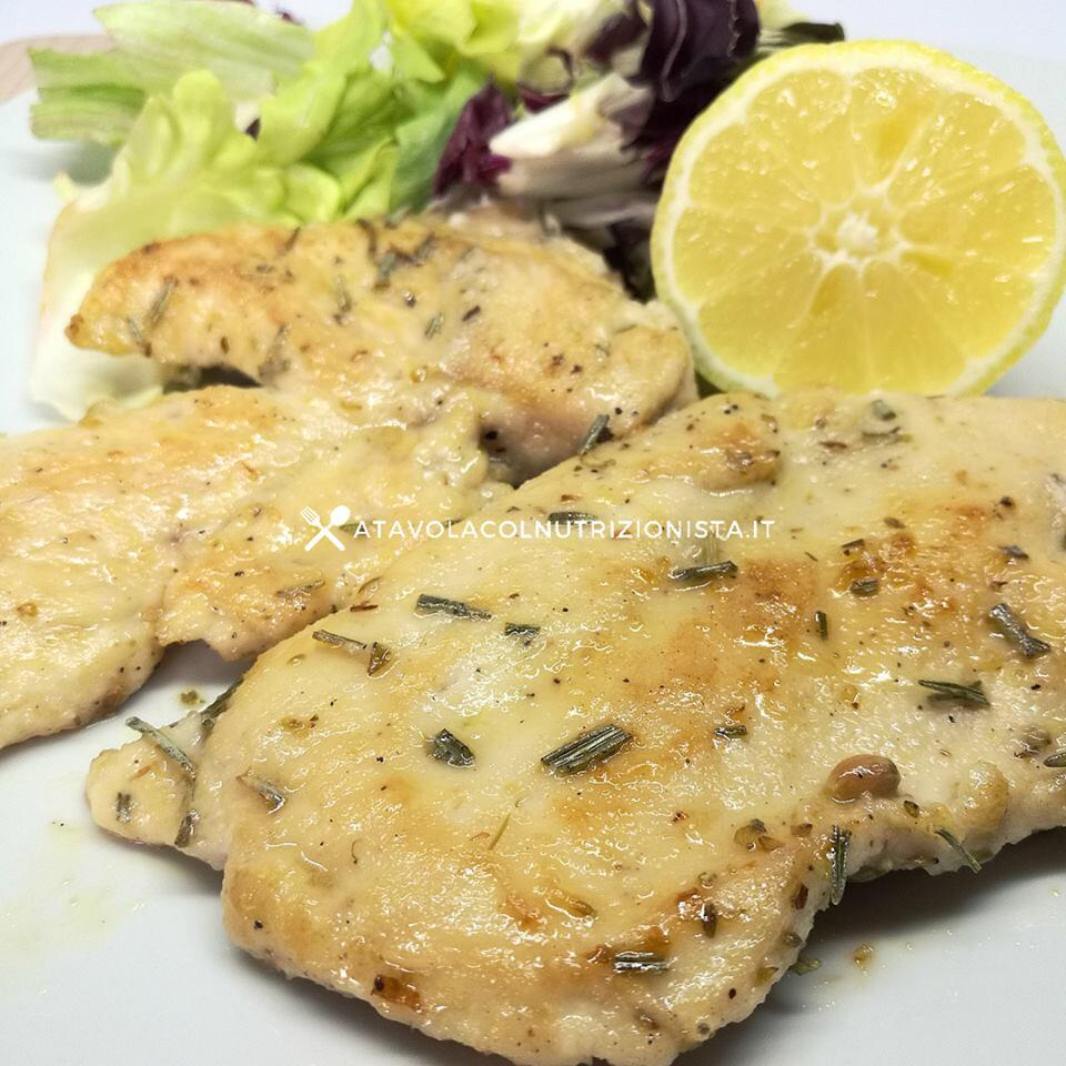 Scaloppine di pollo fit