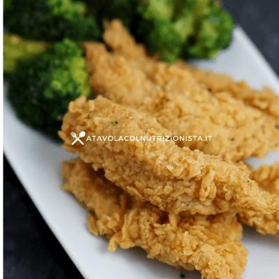 pollo croccante