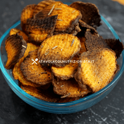 Chips di patate dolci