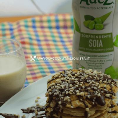 pancake vegani senza glutine e senza lattosio adez