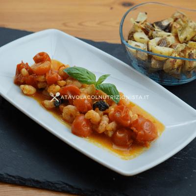 gamberetti con i pomodorini