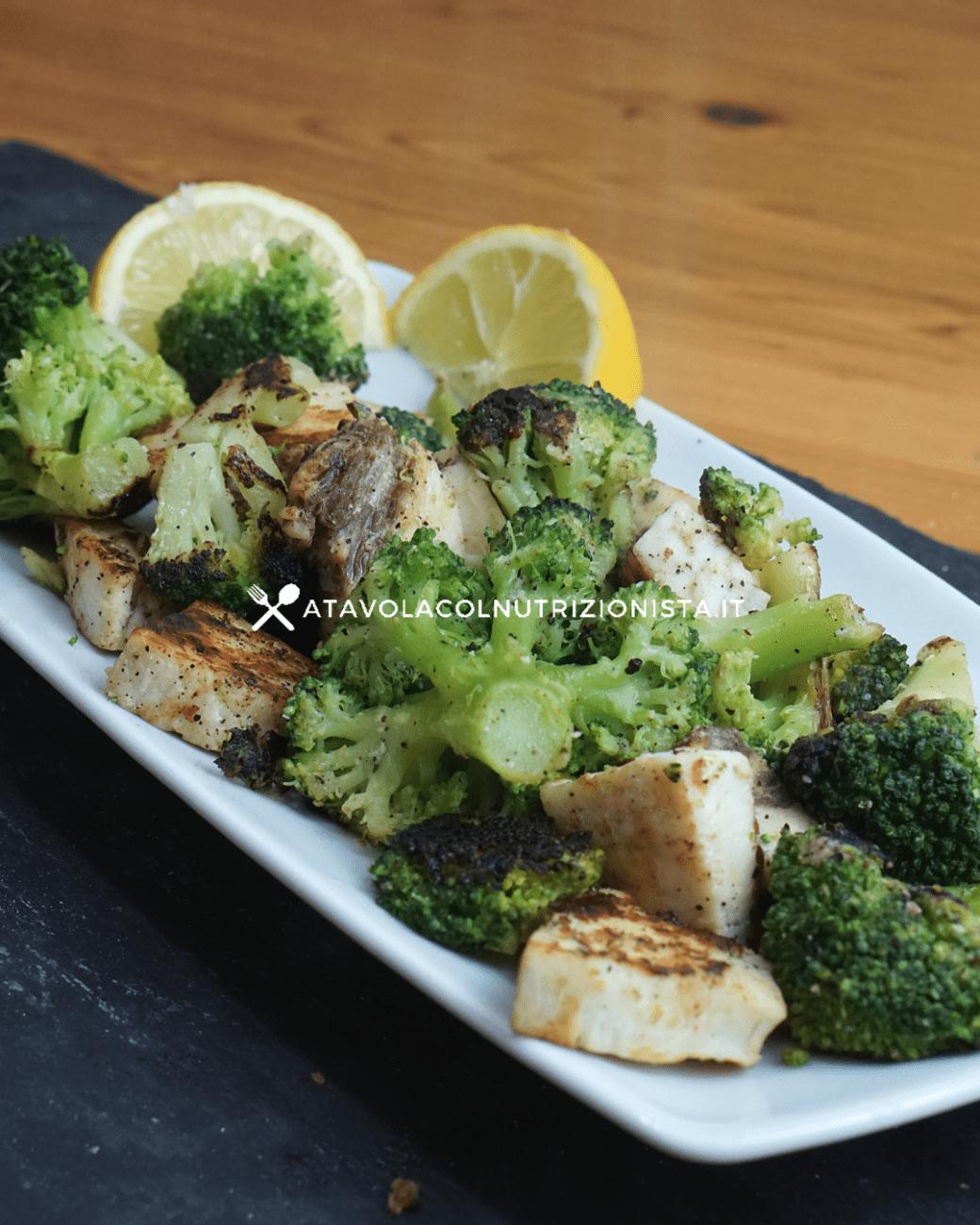 Pesce spada con i broccoli