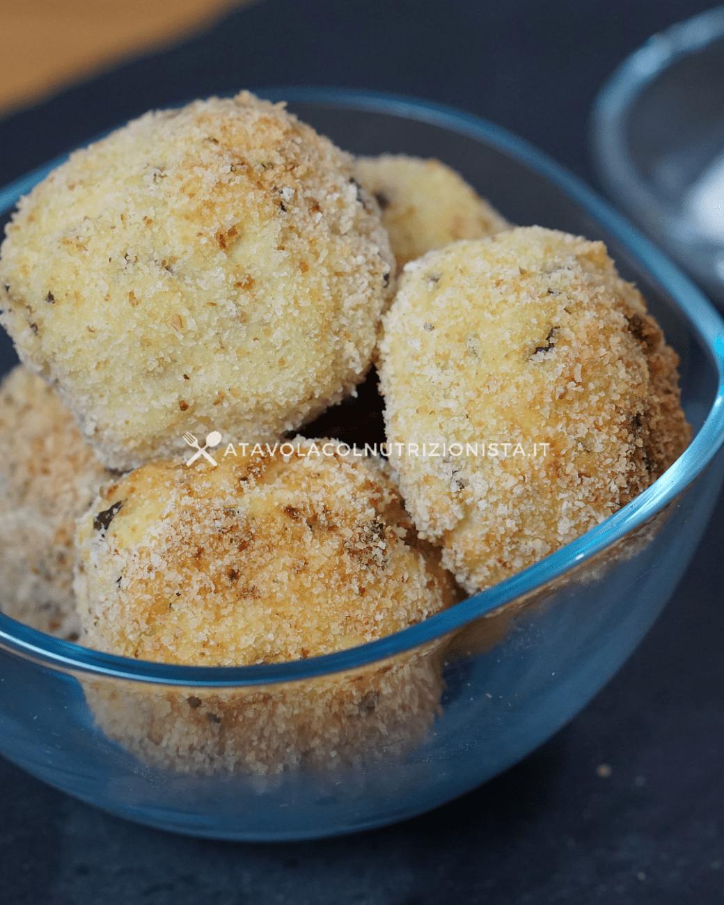 Polpette di Ricotta e Patate al Forno – Facili e Veloci