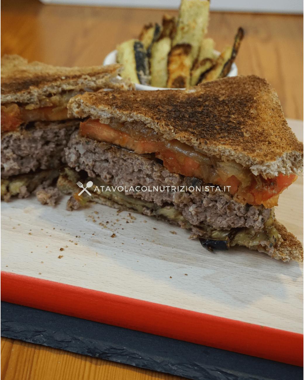 Hamburger Light Fatti in Casa