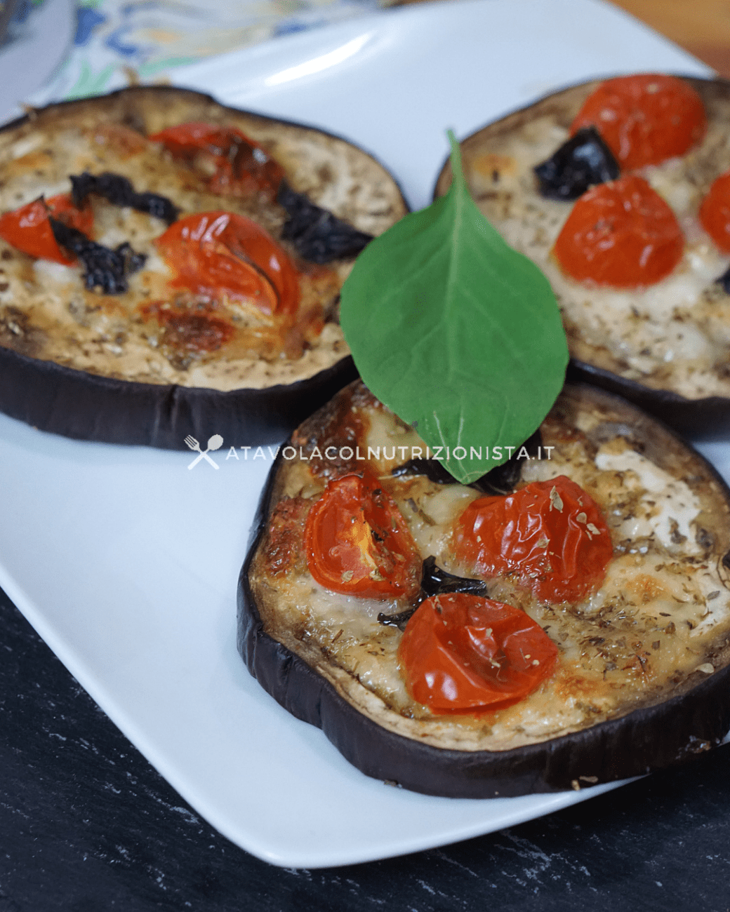 Pizzette di Melanzane al Forno