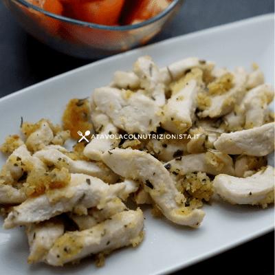 Straccetti di petto di pollo