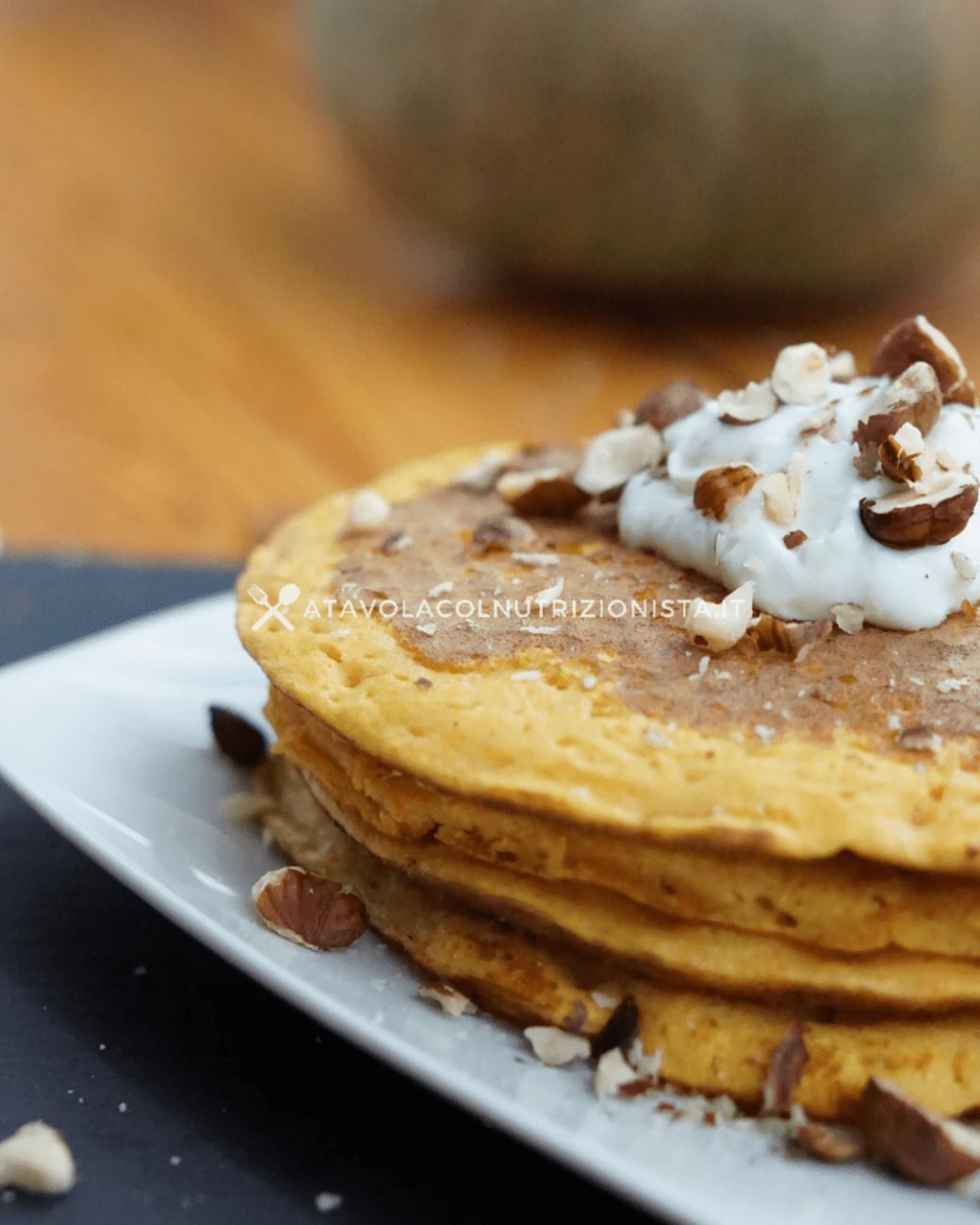 Pancake di Zucca Ricetta Semplice