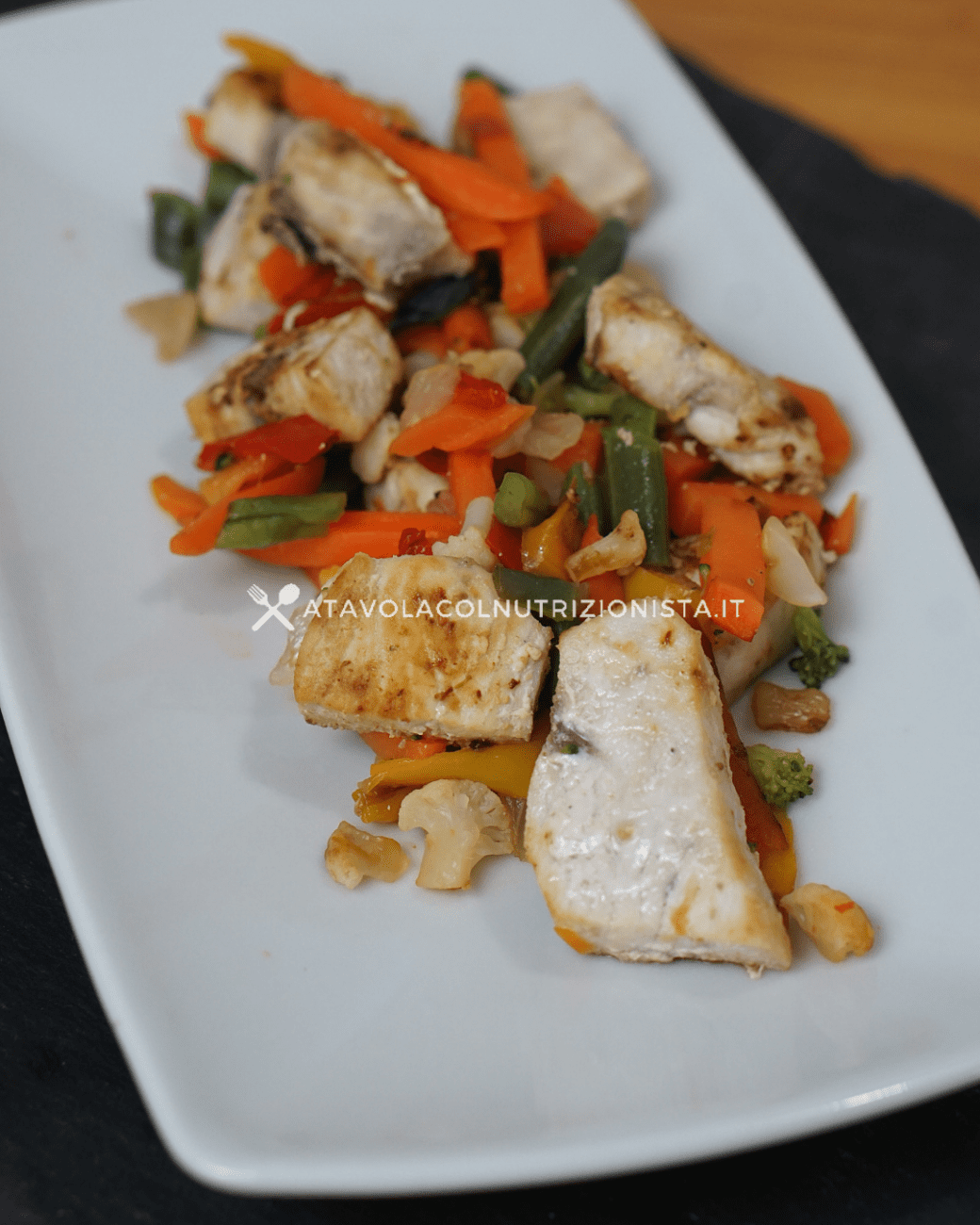 Pesce Spada con le Verdure – Ricetta Semplice