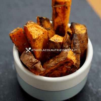 stick di patate dolci