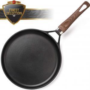 ROSMARINO Professionale Padella per Pancake Crepiera 28 cm per Induzione