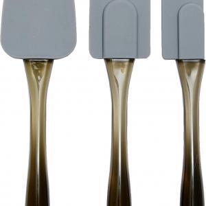 Spatole in silicone, set da 3 pezzi