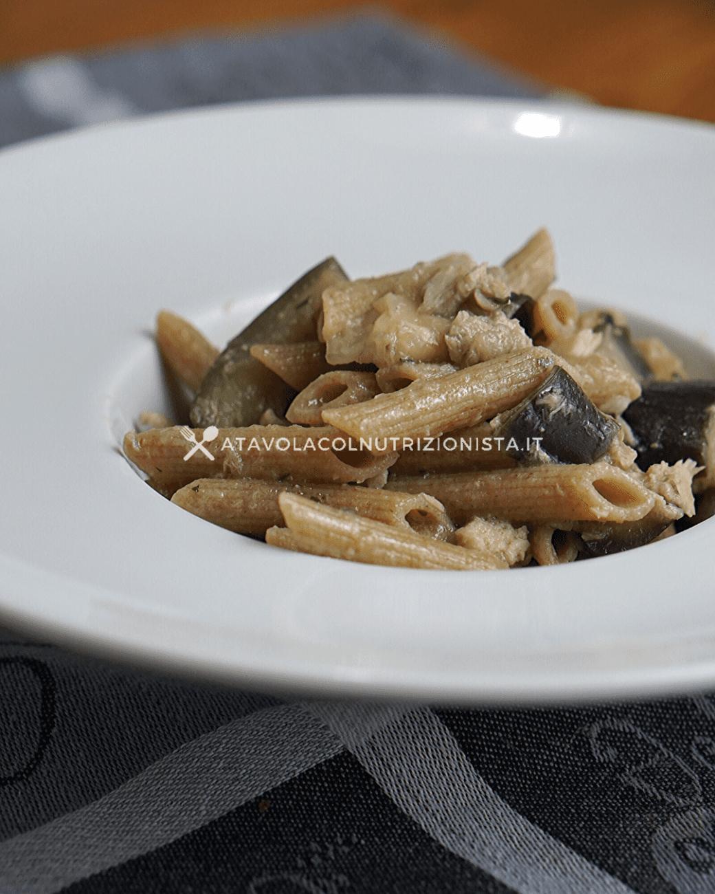 Pasta Integrale con Tonno e Melanzane: Il primo piatto semplice e leggero