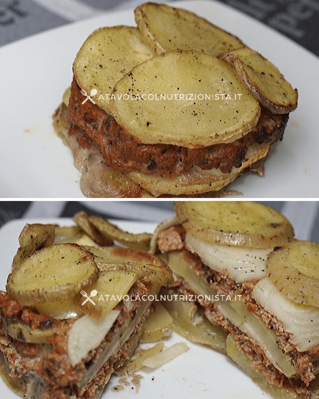 Tortino di Patate, Cipolle e Carne: La ricetta del secondo bello e saporito