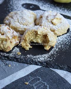 biscotti di mele senza zuccheri aggiunti