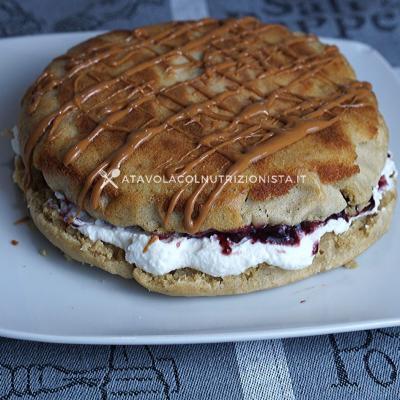 ciccio pancake con farina di avena