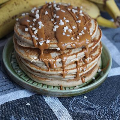 pancake banana e avena