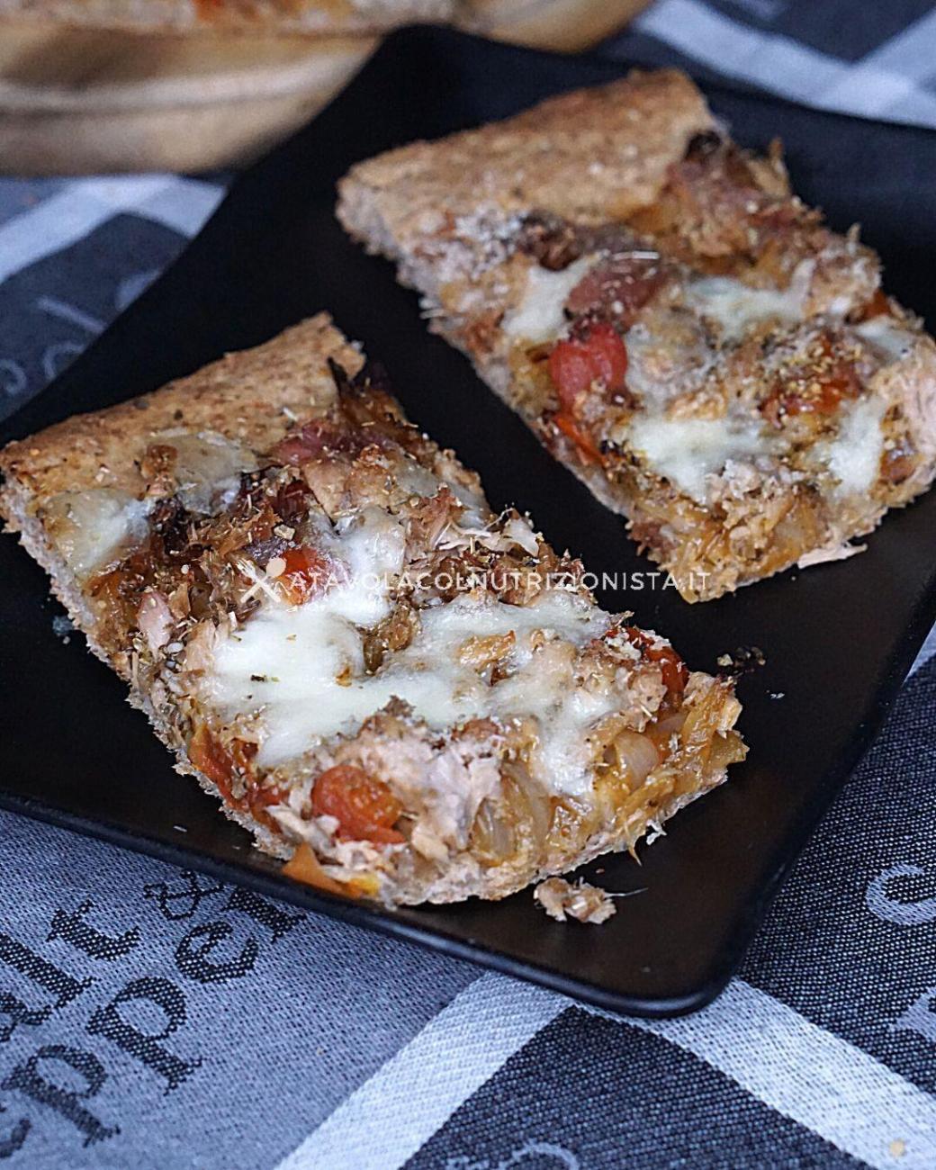 Pizza Integrale in Teglia Anti Sgarro