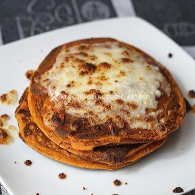 pizza pancake - pancake salati