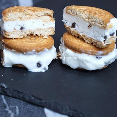 Biscotto Gelato allo Yogurt Greco senza zucchero