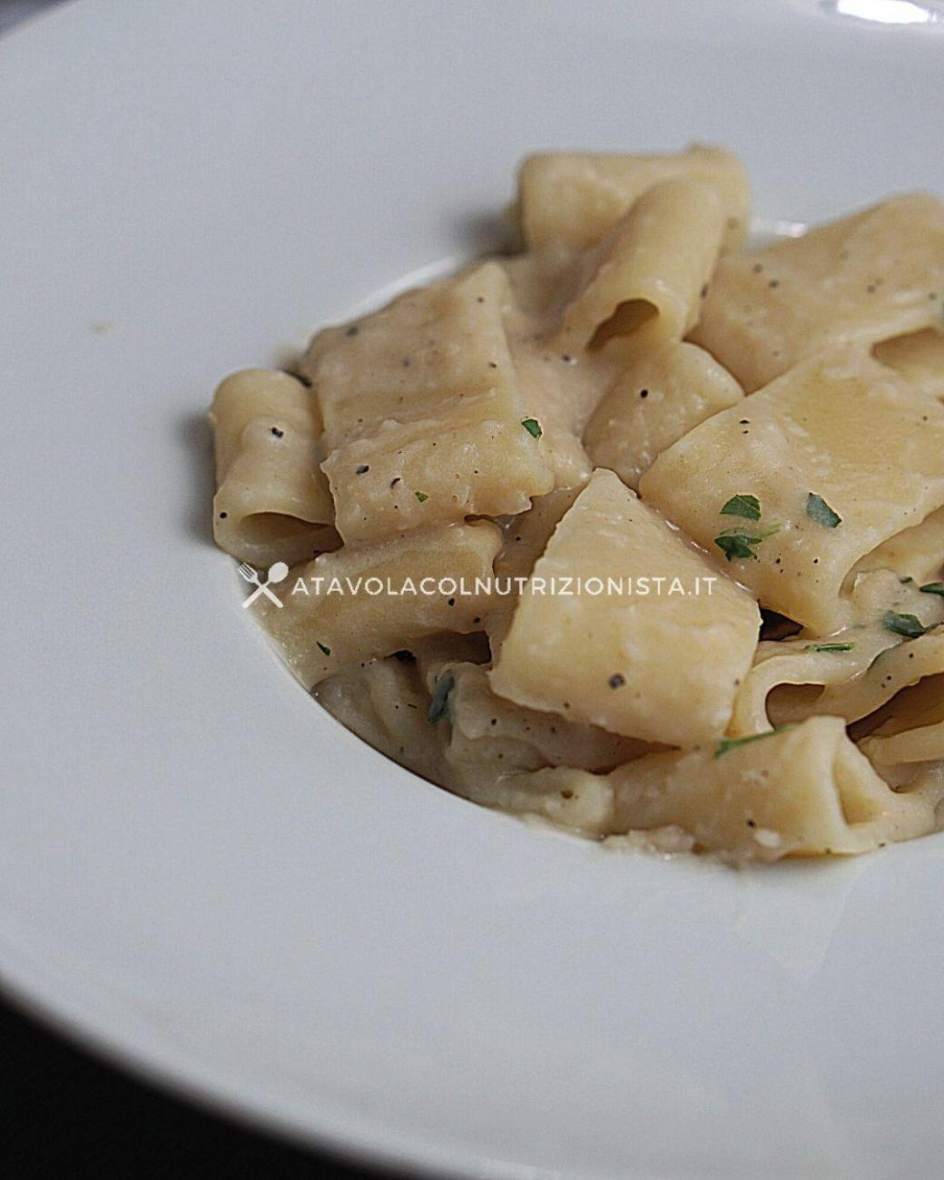 Pasta con la Crema di Fagioli Cannellini