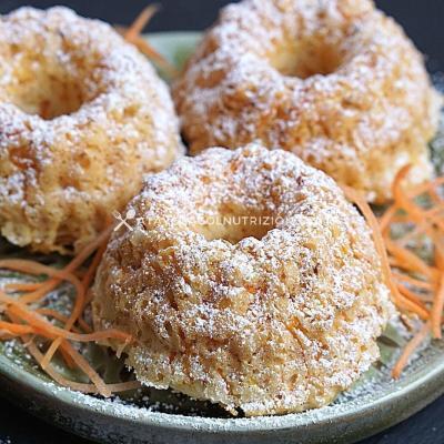Ciambelline alle Carote Senza Zucchero