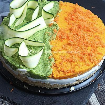 ricetta Cheesecake Salata Bigusto Carote e Zucchine