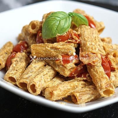 ricetta pasta integrale ricotta e pomodorini