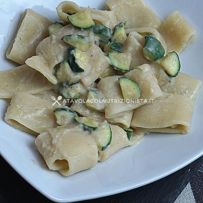 ricetta Pasta con la Crema di Fagioli Cannellini e Zucchine