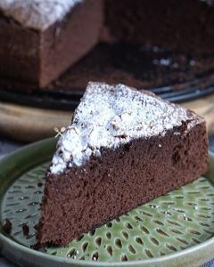 ricetta Torta al Cioccolato con Farina di Avena Senza Zuccheri Aggiunti