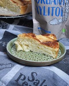 ricetta Torta di Mele Senza Zuccheri Aggiunti (con xilitolo e cotta nella friggitrice ad aria)