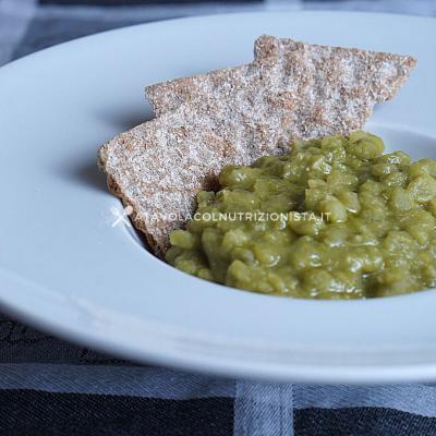 ricetta Zuppa di Piselli Secchi a tavola col nutrizionista