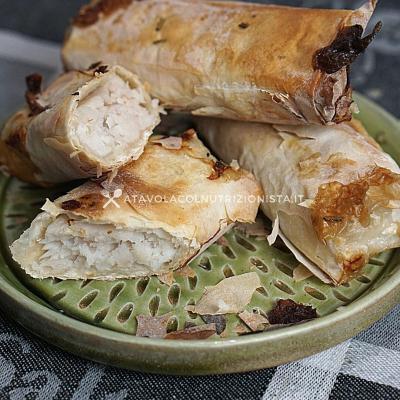 ricetta Filetto di Merluzzo in Crosta di Pasta Fillo