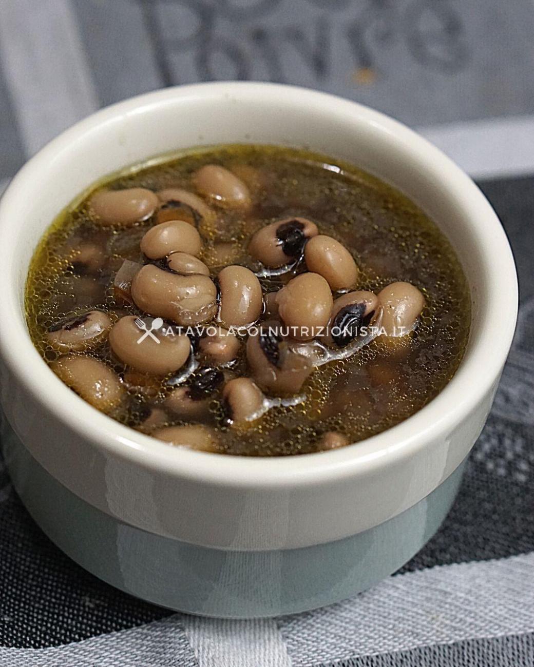 Zuppa di Fagioli con l'Occhio