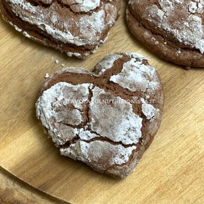 ricetta di san valentino Biscotti alla Nutella