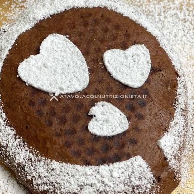 Ricetta Pancake al Cacao con Farina di Avena