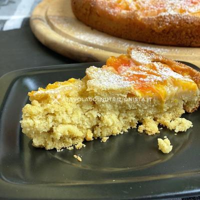 ricetta light Torta Rovesciata all'Arancia Senza Zuccheri Aggiunti con Farina di Avena