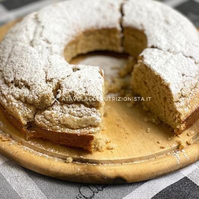 ricetta Ciambellone all'Arancia con Farina di Avena e Senza Zucchero Aggiunto