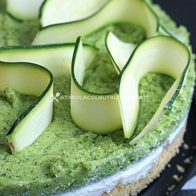 ricetta light Cheesecake Salata alle Zucchine
