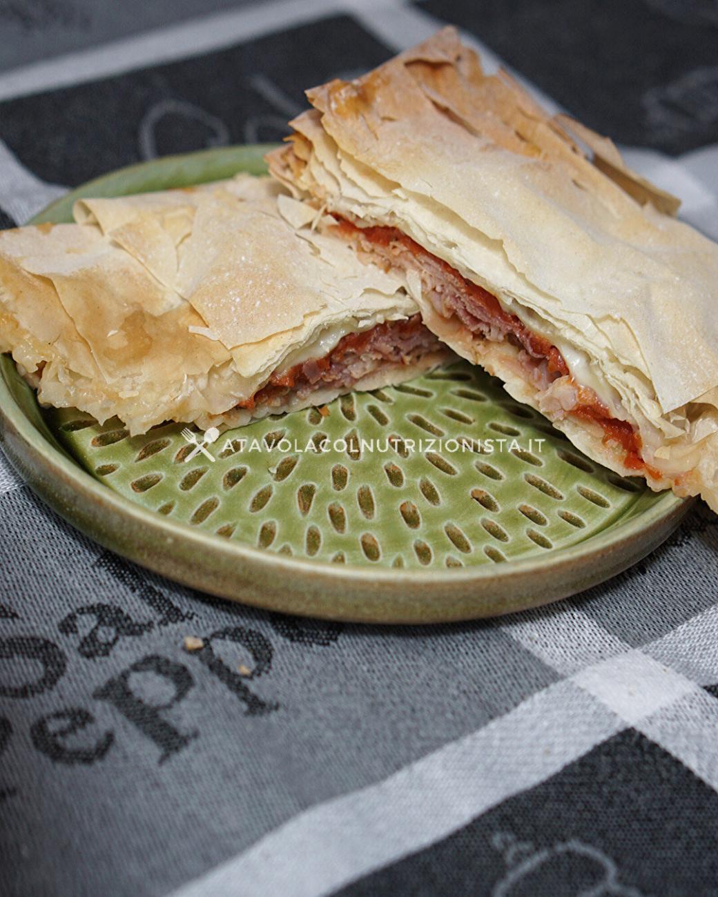 Fagottini di Pasta Fillo Gusto Pizza