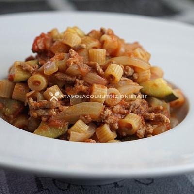 Pasta Risottata Macinato e Zucchine 3
