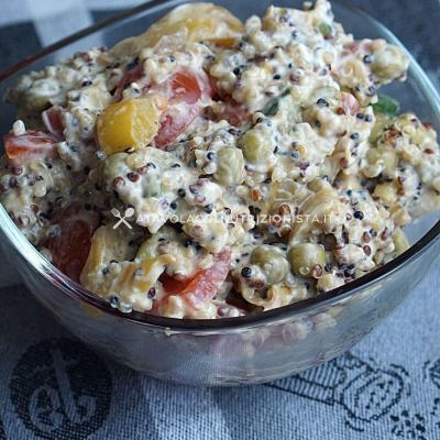 Insalata di Quinoa Cremosa