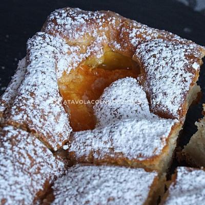 ricetta Torta di Albicocche con Farina di Avena